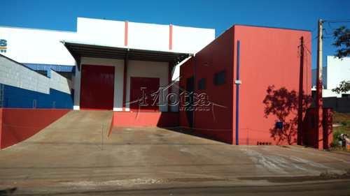 Galpão, código 435 em Cravinhos, bairro Distrito Industrial