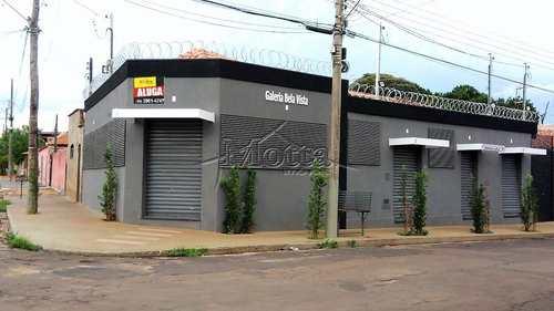 Sala Comercial, código 887 em Cravinhos, bairro Bela Vista