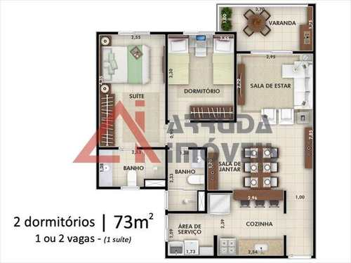 Apartamento, código 4336 em Itu, bairro Jardim Rosinha