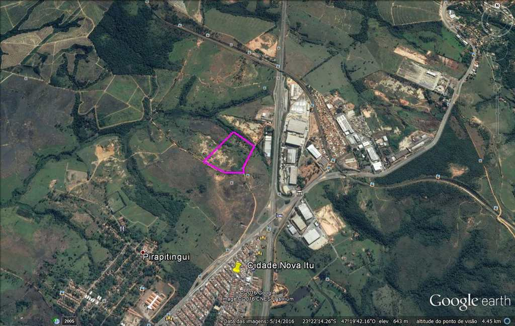 Terreno Industrial em Itu, bairro Vila Martins
