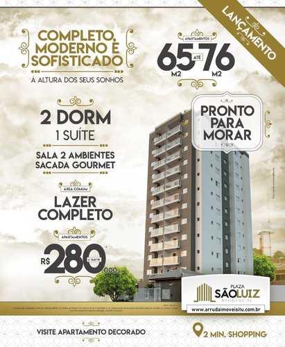 Apartamento, código 42091 em Itu, bairro Plaza São Luiz Residencial
