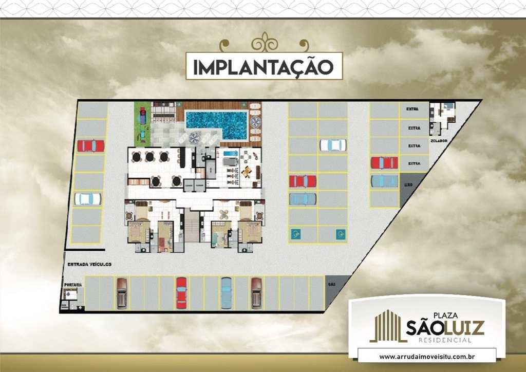 Apartamento em Itu, bairro Plaza São Luiz Residencial