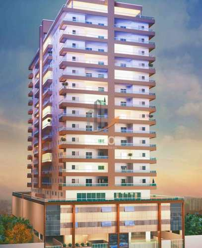 Apartamento, código 5069 em Praia Grande, bairro Caiçara