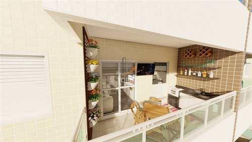 Apartamento, código 5243 em Praia Grande, bairro Caiçara