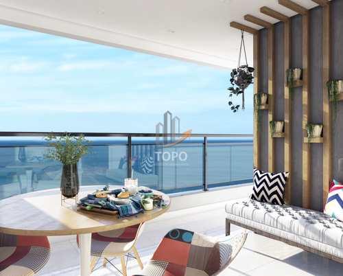 Apartamento, código 5290 em Praia Grande, bairro Mirim
