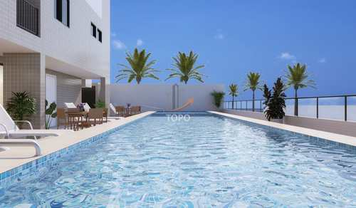 Apartamento, código 5291 em Praia Grande, bairro Mirim