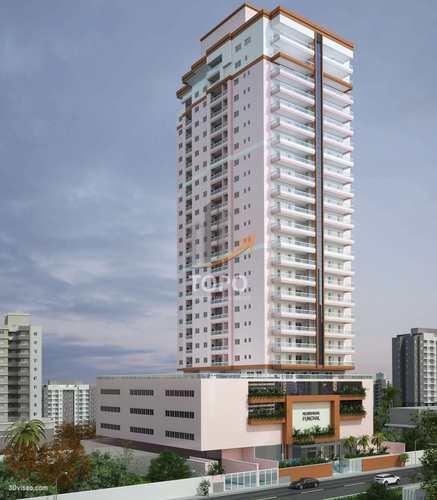 Apartamento, código 5472 em Praia Grande, bairro Guilhermina