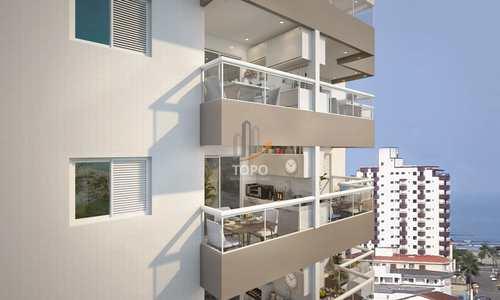 Apartamento, código 5476 em Praia Grande, bairro Mirim