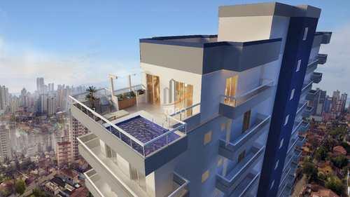 Apartamento, código 5541 em Praia Grande, bairro Boqueirão