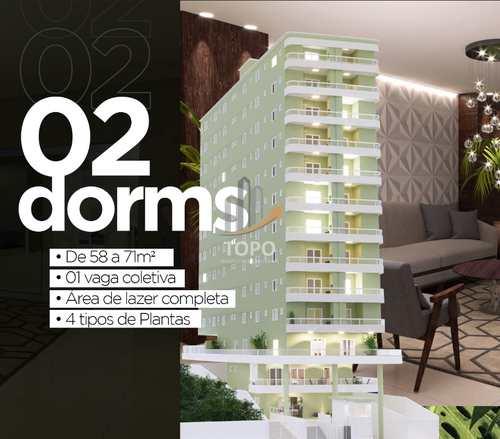 Apartamento, código 5573 em Praia Grande, bairro Caiçara