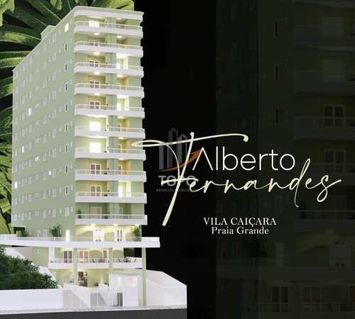 Apartamento, código 5574 em Praia Grande, bairro Caiçara