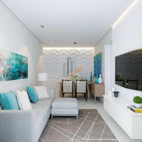 Apartamento, código 5787 em Praia Grande, bairro Guilhermina