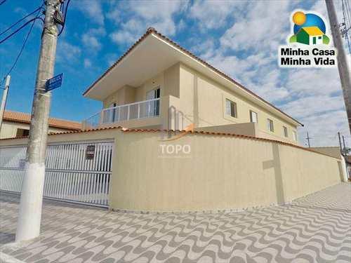 Casa de Condomínio, código 3708 em Praia Grande, bairro Esmeralda