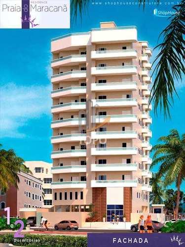 Apartamento, código 3424 em Praia Grande, bairro Maracanã