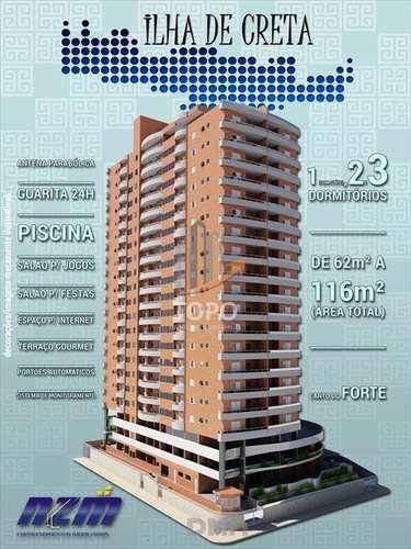 Apartamento, código 2845 em Praia Grande, bairro Canto do Forte