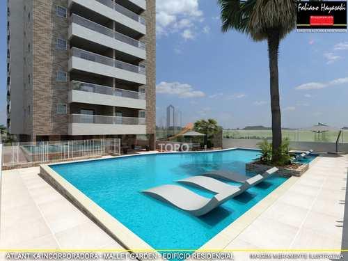 Apartamento, código 4673 em Praia Grande, bairro Canto do Forte