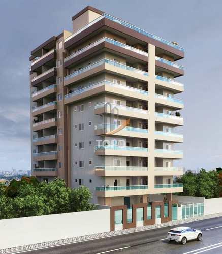 Apartamento, código 5077 em Praia Grande, bairro Mirim