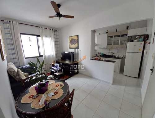 Apartamento, código 5654 em Praia Grande, bairro Guilhermina