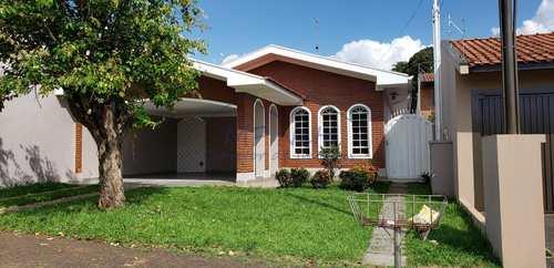 Casa, código 19400 em Pirassununga, bairro Cidade Jardim