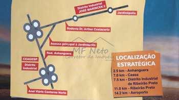 Área Comercial, código 10131695 em Jardinópolis, bairro Distrito Industrial José Marinceck II