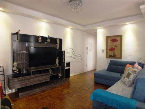 Apartamento, código 886 em Santos, bairro Gonzaga