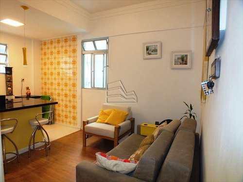 Apartamento, código 865 em Santos, bairro Pompéia