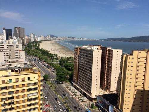 Apartamento, código 852 em Santos, bairro José Menino