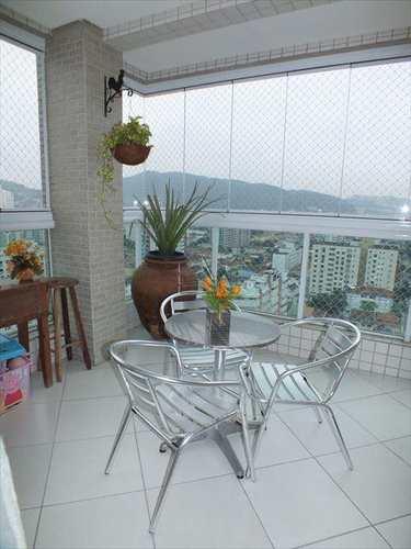 Apartamento, código 747 em Santos, bairro Pompéia