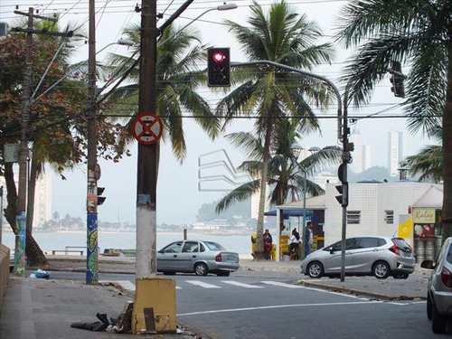 Apartamento, código 741 em São Vicente, bairro Centro