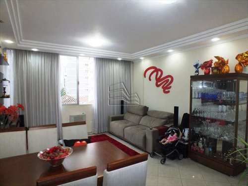 Apartamento, código 709 em Santos, bairro Pompéia