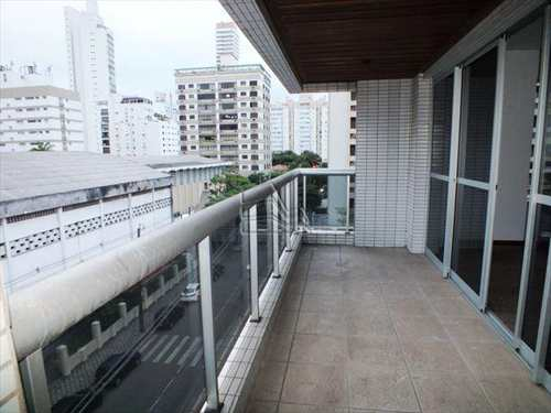 Apartamento, código 695 em Santos, bairro Boqueirão