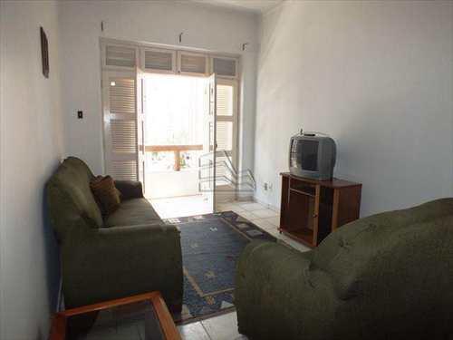 Apartamento, código 845 em Santos, bairro Boqueirão
