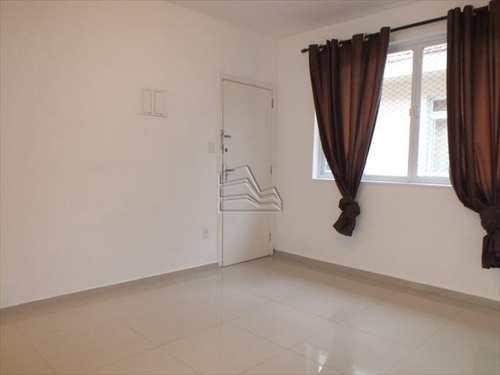 Apartamento, código 611 em Santos, bairro Gonzaga