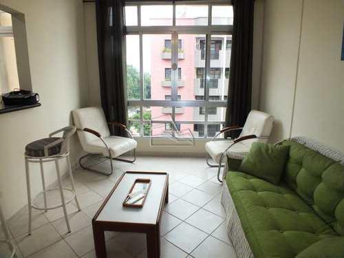 Apartamento, código 538 em São Vicente, bairro Itararé