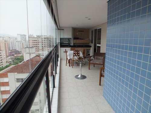 Apartamento, código 300 em Santos, bairro Gonzaga