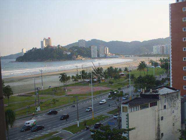 Flat em São Vicente, bairro Itararé