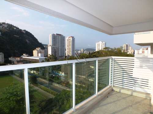 Apartamento, código 974 em Santos, bairro José Menino