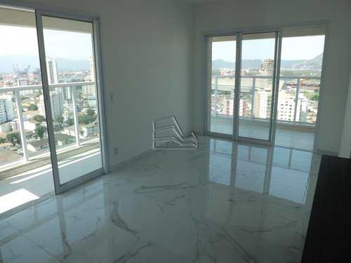 Apartamento, código 986 em Santos, bairro Ponta da Praia