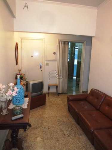 Apartamento, código 998 em Santos, bairro Ponta da Praia