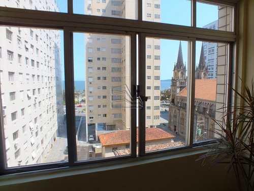 Apartamento, código 1143 em Santos, bairro Embaré