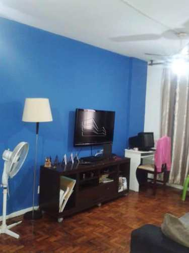 Apartamento, código 1185 em Santos, bairro Pompéia