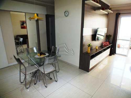 Apartamento, código 1200 em Santos, bairro Marapé