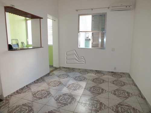 Sala Living, código 1235 em Santos, bairro Boqueirão