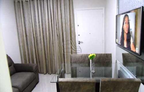 Apartamento, código 1266 em São Vicente, bairro Itararé