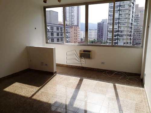 Apartamento, código 1274 em Santos, bairro Gonzaga