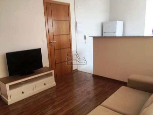 Apartamento, código 1284 em Santos, bairro Encruzilhada
