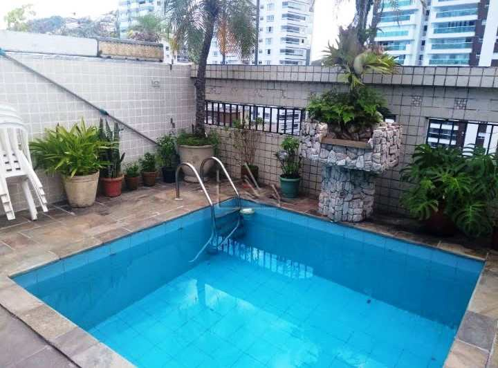 Cobertura em Santos, no bairro Pompéia