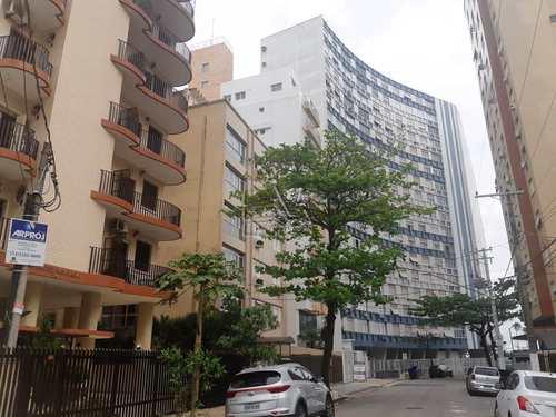 Sala Living, código 1308 em Santos, bairro Ponta da Praia