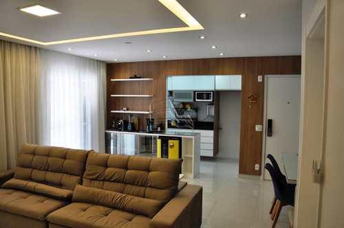 Apartamento, código 1317 em Santos, bairro Marapé