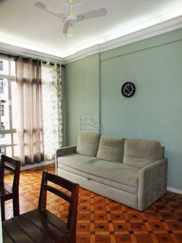 Apartamento, código 1328 em São Vicente, bairro Itararé